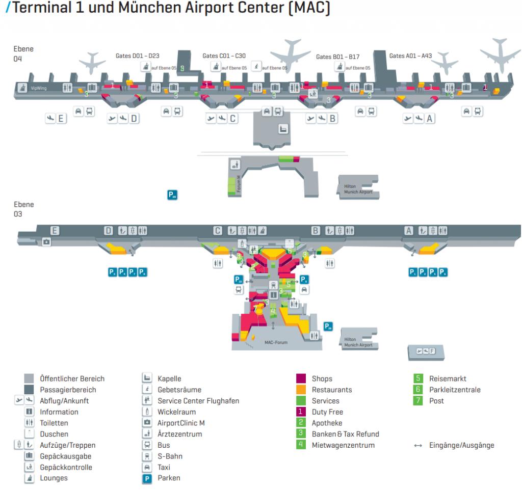 Flughafen München Ankunft